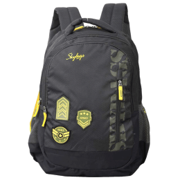 Skybags Stream 01 30 Litres Polyester Laptop Backpack (SBSTR1HBLU, Army Green)_1