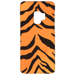 Cangaroo Tiger Textured Polycarbonate Hard Back Case Cover for Samsung Galaxy S9 (HD_SamS9_Kri_025_TIGER, Yellow)_1