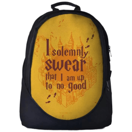 The Souled Store Harry Potter- Mischief Managed 30 Litres Laptop Backpack (Black)_1