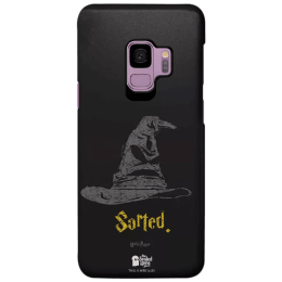 The Souled Store Harry Potter - Sorting Hat Polycarbonate Mobile Back Case Cover for Samsung Galaxy S9 (122508, Black)_1