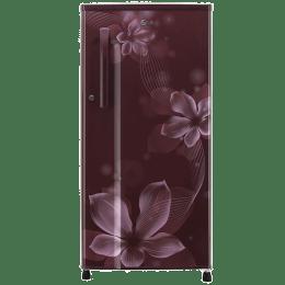 LG 188 L 3 Star Direct Cool Single Door Inverter Refrigerator (GL-B191KSOW, Scarlet Orchid)_1