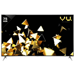 Vu 190 cm (75 inch) 4k Ultra HD LED Smart TV (H75K700, Black)_1