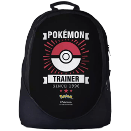 The Souled Store Pokamon- Trainer 30 Litres Laptop Backpack (Black)_1