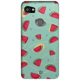 The Souled Store Watermelons Polycarbonate Mobile Back Case Cover for Google Pixel 2 XL (80462, Multicolor)_1