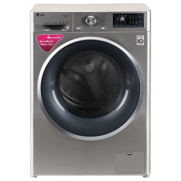 LG 9 kg Fully Automatic Front Loading Washing Machine (FHT1409SWSASSPEIL, Stainless Steel)_1