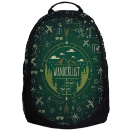 The Souled Store Travel Doodle 25 Litres Laptop Backpack (Multicolour)_1
