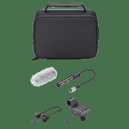 Sony XLR Audio Adapter Kit with Shotgun Microphone For DSLR, Mirrorless & Interchangeable Lens Cameras (Mechanical Noise Suppression, XLR-K3M SYU, Black)_1