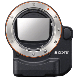 Sony Mount Adaptor for Full Frame or APS-C camera (LA-EA4 AE, Black)_1