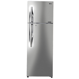 LG 308 L 3 Star Frost Free Double Door Inverter Refrigerator (GL-C322RPZU, Shiny Steel)_1