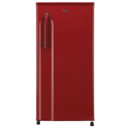 LG 188 L 3 Star Direct Cool Single Door Inverter Refrigerator (GL-B191KPRW, Peppy Red)_1