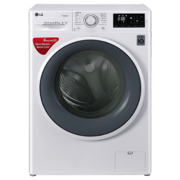 LG 6.5 kg Fully Automatic Front Loading Washing Machine (FHT1265SNW, Blue White)_1