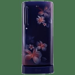 LG 190 L 4 Star Direct Cool Single Door Inverter Refrigerator (GL-D201ABPX, Blue Plumeria)_1