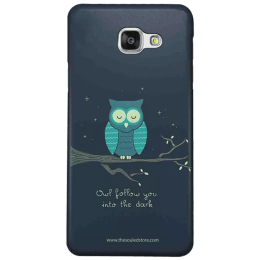 The Souled Store Romantic Owl Polycarbonate Mobile Back Case Cover for Samsung Galaxy J7 Max (78874, Space)_1
