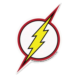The Souled Store The Flash Logo Sticker (Multicolor)_1