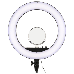 Godox Bi-Color Ringlight For Mobile Phones (18 Watts, LR160, Black)_1