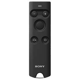 Sony Wireless Remote Commander For Cameras (Two Assignable Buttons, RMT-P1BT//C SYU, Black)_1