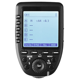 Godox Wireless Flash Trigger For Nikon Cameras (32 Channels, Xpro-N, Black)_1