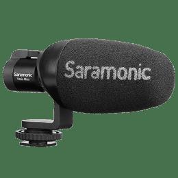 Saramonic Vmic Mini Camera Mountable Shotgun Microphone System For DSLR, Mirrorless & Video Cameras (Integrated Robust Shockmount, Black)_1