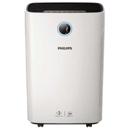 Philips Series 3000 VitaShield IPS Technology Air Purifier & Humidifier (Real-Time Digital Display, AC3821/20, White)_1