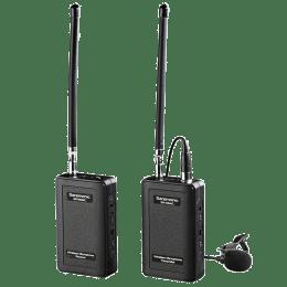 Saramonic VHF Camera-Mount Wireless Omnidirectional Lavalier Microphone System For Action Cameras (Volume Control Wheel, SR-WM4C, Black)_1