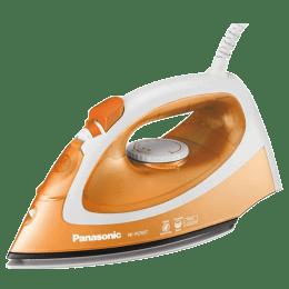 Panasonic 1550 Watt Steam Iron (NI-P250TTSM, Orange)_1