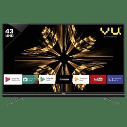 Vu 109 cm (43 inch) 4k Ultra HD LED Smart TV (43SU128, Black)_1
