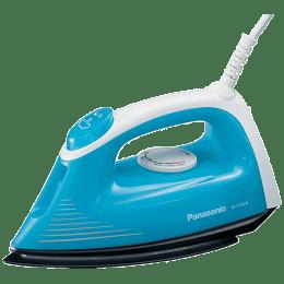 Panasonic 1200 Watts 140ml Steam Iron (Non-stick Coating, NI-V100NAARM, Blue)_1