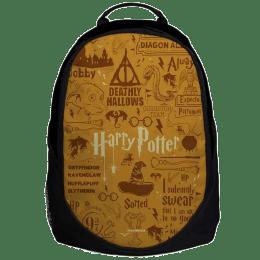 The Souled Store Harry Potter- Doodle 30 Litres Laptop Backpack (Black)_1