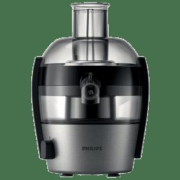 Philips Viva Collection 500 Watts Juicer (QuickClean, HR1836/00, Ink Black)_1