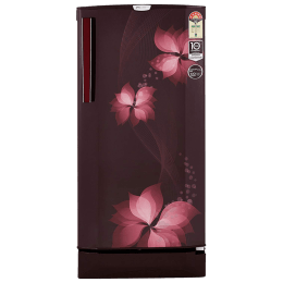 Godrej 190 L 5 Star Direct Cool Single Door Inverter Refrigerator (RD EPRO 205 TAI 5.2, Breeze Wine)_1