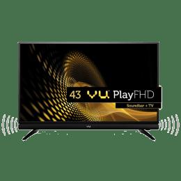 Vu 109 cm (43 inch) Full HD LED TV (4043F, Black)_1