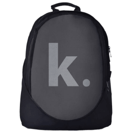 The Souled Store K. 25 Litres Laptop Backpack (Grey/Black)_1