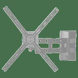 RD Plast 55 inch Single Arm Wall Mount TV Stand (RW 9840-1, Black)_1