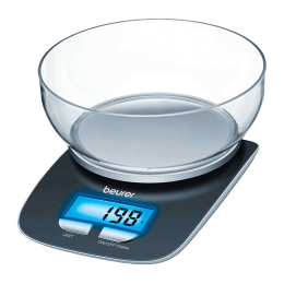 Beurer KS 25 Kitchen Weighing Scale (Black)_1