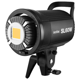Godox LED Video Light (60 Watts, SL60, Black)_1