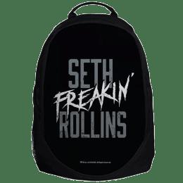 "The Souled Store WWE- Seth Rollins ""Seth 'Freakin' Rollins"" 30 Litres Laptop Backpack (Black)_1"