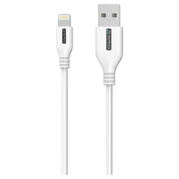 Stuffcool Rapido 150 cm USB (Type-A) to Lightning Sync & Charge 2.4 Amp Cable (LGRPDO-WHT, White)_1