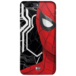 The Souled Store Spider - Man - Spidey Sense Polycarbonate Mobile Back Case Cover for OnePlus 5 (54222, Red/Black)_1