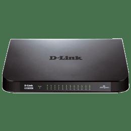 D-Link 24-Port Gigabit Switch (DGS-1024A, Black)_1