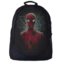 The Souled Store Spider-Man- Face 25 Litres Laptop Backpack (Red)_1