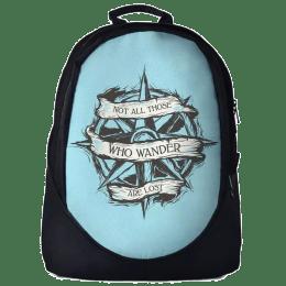 The Souled Store Wanderlust 30 Litres Laptop Backpack (Blue/Black)_1