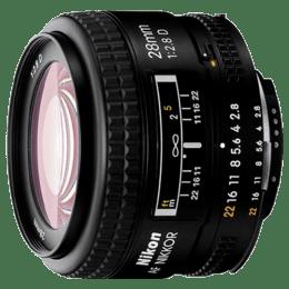 Nikon AF Nikkor 28 mm F2.8-F22 Lens (Black)_1
