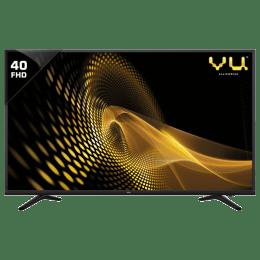 Vu 102 cm (40 inch) Full HD LED TV (40D6575, Black)_1
