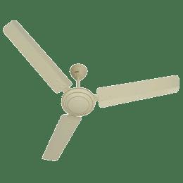Usha Swift 120cm Sweep 3 Blade Ceiling Fan (Speed 350 RPM, 111148531W, Rich Ivory)_1