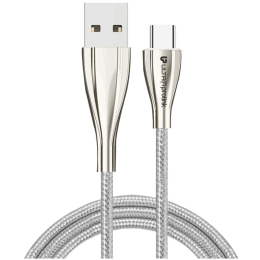 Ultraprolink Zync 150 cm USB (Type-A) to USB (Type-C) Cable (UL0058WHT-0150, White)_1