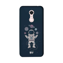 The Souled Store Planet Juggler Polycarbonate Mobile Back Case Cover for Xiaomi Redmi Note 5 (85024, Dark Blue)_1