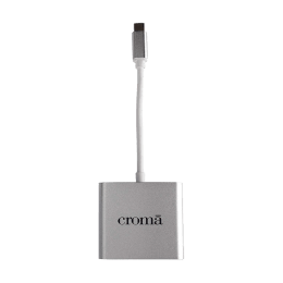 Croma USB 3.0 (Type-C) to HDMI (Type-A)/Lightning/USB 2.0 (Type-A) Cable (CRXN4074, White)_1