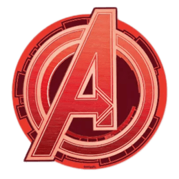 The Souled Store Avengers Logo Sticker (Red)_1