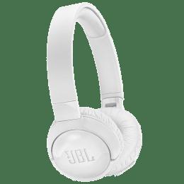 JBL TUNE600BTNC Bluetooth Headphones (White)_1