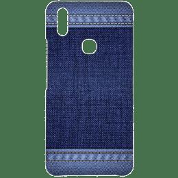 Cangaroo Denim Design Polycarbonate Hard Back Case Cover for Vivo V9 (HD_VivoV9_Kri_010_DENM, Blue)_1